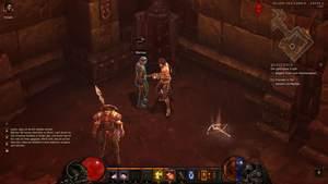 Diablo 3 - Komplettlösung : Wir befreien den dämlichen Merhan aus der eisernen Jungfrau.