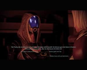 Mass Effect 2 : Am Ende der Mission entscheiden Sie über Veetors Schicksal.