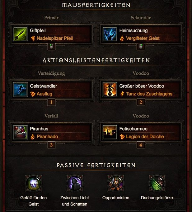 Diablo 3 Patch 2.4.1 Starter Build »Zunimassa« für den Witch Doctor