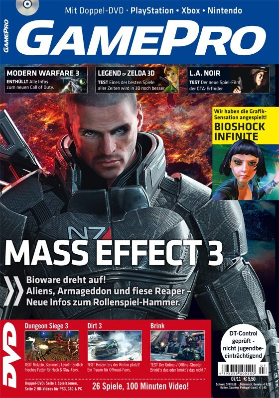 GamePro 07/2011 ab sofort am Kiosk