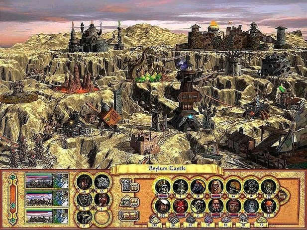 Heroes of Might and Magic 4.