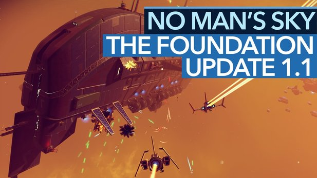 No Man's Sky: The Foundation - Video: Update 1.1 mit Frachter- und Basenbau ausprobiert