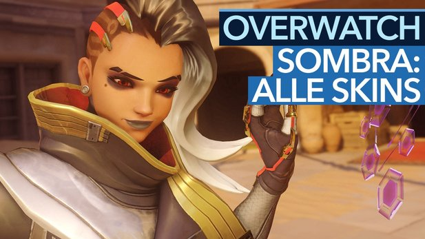 Overwatch - Sombra: Alle Skins, Emotes, Siegerposen, Sprüche, Sprays & Highlight-Intros