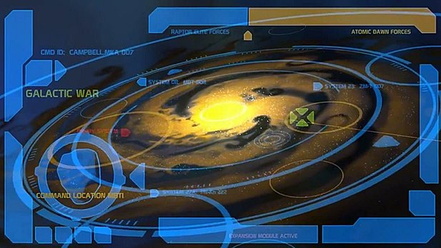 »Galactic War«-Video von Planetary Annihilation
