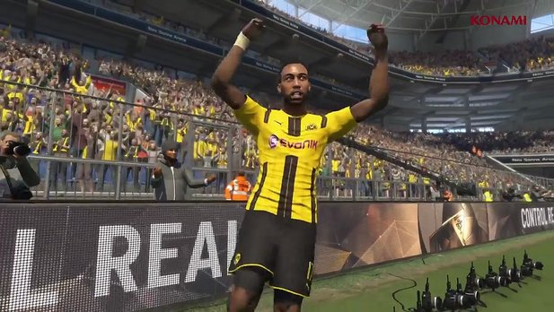 Pro Evolution Soccer 2017 - Gameplay-Szenen aus der Mobile-Version im Launch-Trailer
