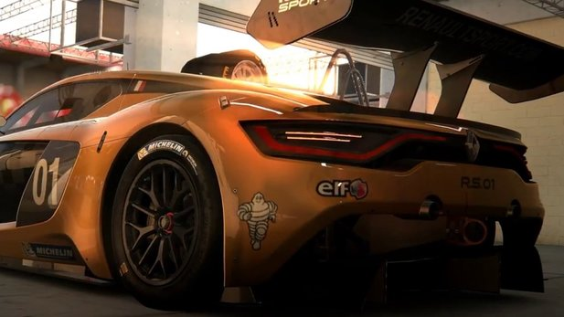 Project CARS - Teaser-Trailer zum »Renault Sport Car Pack«-DLC