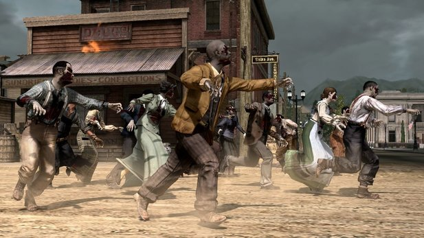 Zombies, wie hier im Red Dead Redemption-DLC Undead Nightmare, funktionieren laut Zelnick immer gut.