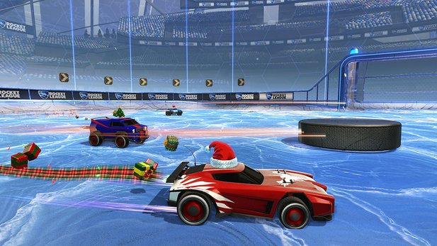 Rocket League - Eishockey-Mutator: Schneefrei-Update angespielt