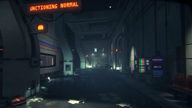 Routine - Gameplay aus der Alpha-Version des Sci-Fi-Horror-Spiels