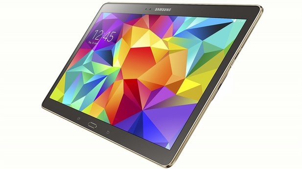 Samsung positioniert das Galaxy Tab S als Konkurrenz zu Apples iPad.