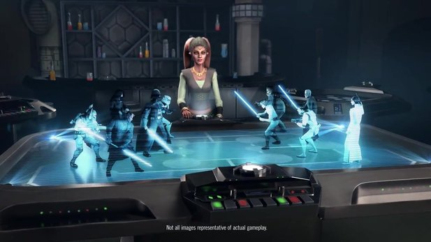 Star Wars: Galaxy of Heroes - Launch-Trailer zum Mobile-Rollenspiel