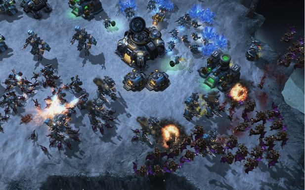 StarCraft 2: Heart of the Swarm wird einen Trainings-Modus bieten.
