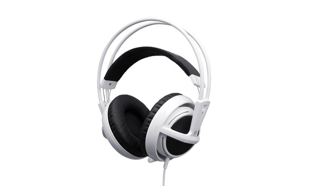 Stereo-Headset in weiß: Steelseries Siberia v2