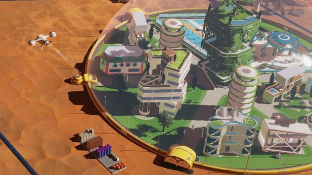 Surviving Mars: Die Städtebau-Simulation im Launch-Trailer