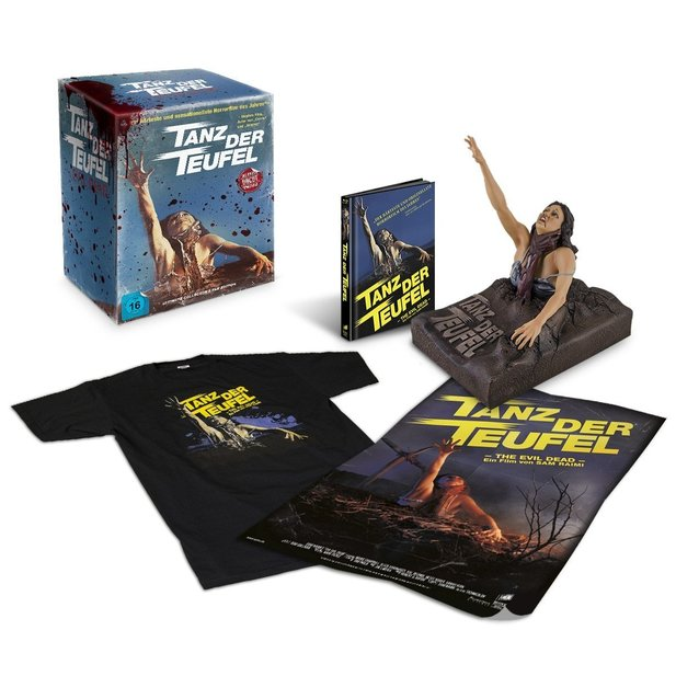 Tanz der Teufel Ultimate Collector's Edition auf Blu-ray.