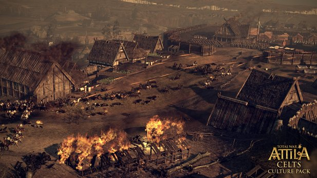 Creative Assembly hat den DLC »Celts Culture Pack« für Total War Attila angekündigt.