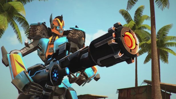 Transformers Universe - Gameplay-Trailer zum MMO-Charakter Catapult