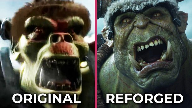 Introduction of Warcraft 3 in comparison: Original vs. Reforged -