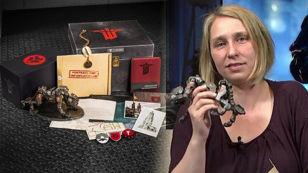 Wolfenstein: The New Order - Boxenstopp-Video zur Panzerhund-Edition