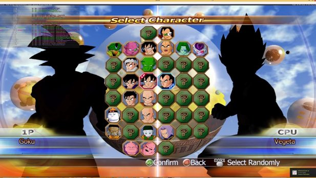 Der Xenia Xbox 360 Emulator mit Dragon Ball Reging Blast.