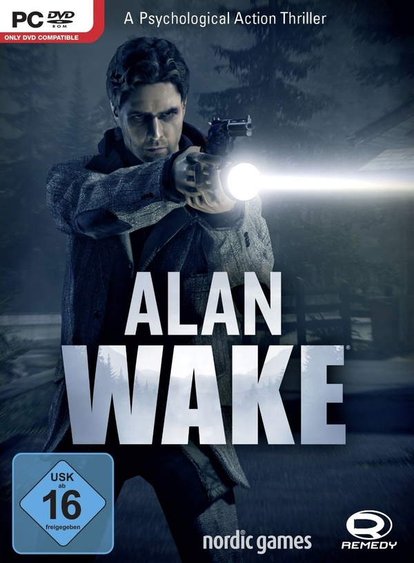 Cover zu Alan Wake