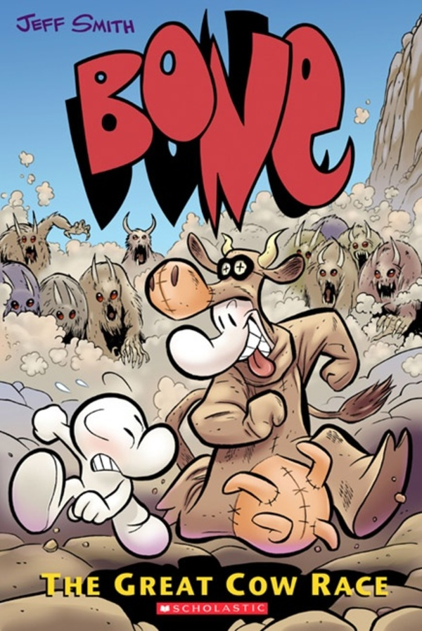Cover zu Bone: The Great Cow Race