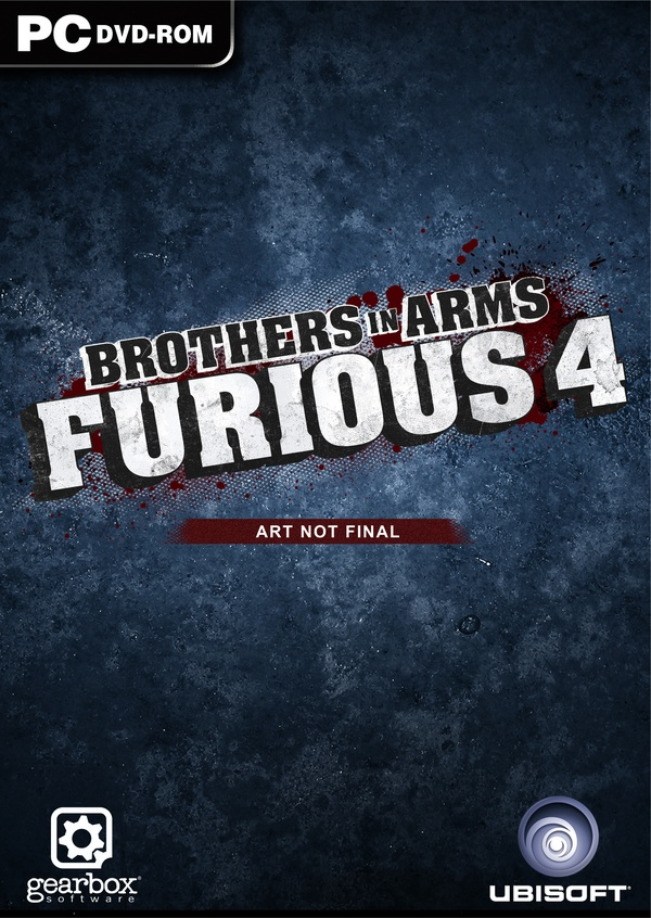 Cover zu Brothers in Arms: Furious 4
