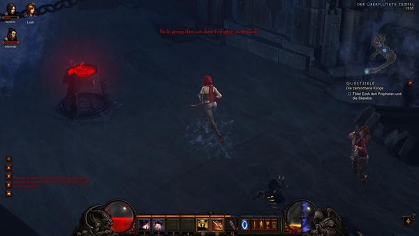 Diablo 3 - Die Grundlagen : Nach 30 Sekunden erneut einsetzbar: Der rettende Heilbrunnen
