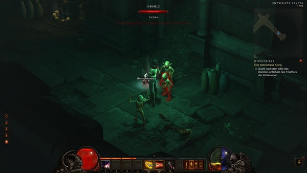 Diablo 3 - Komplettlösung : Nervige kleine Kreaturen: Die Kobolde
