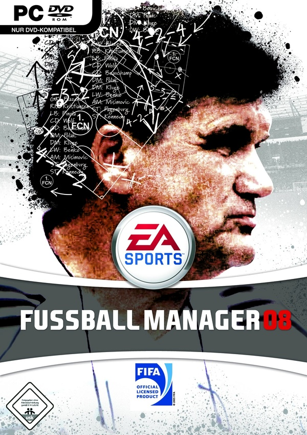 Cover zu Fussball Manager 08