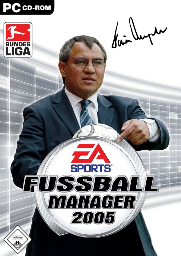 Cover zu Fussball Manager 2005