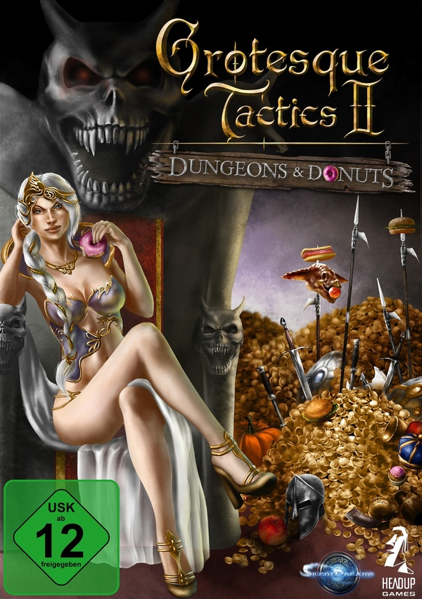 Cover zu Grotesque Tactics 2: Dungeons and Donuts