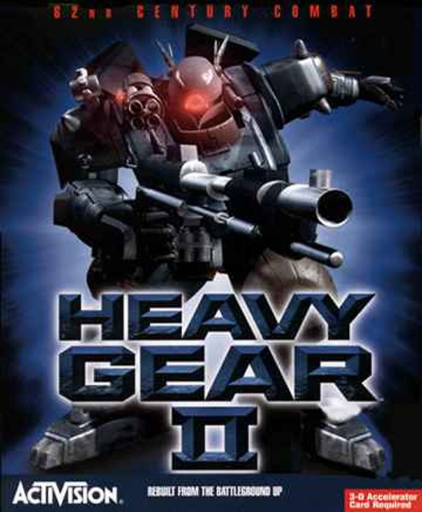Cover zu Heavy Gear 2