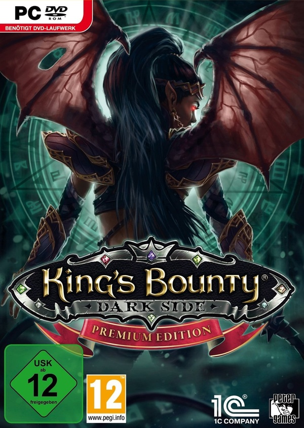 Cover zu King's Bounty: Dark Side