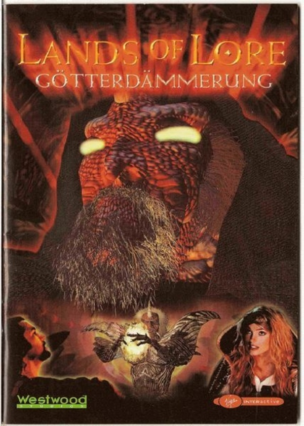 Cover zu Lands of Lore: Götterdämmerung