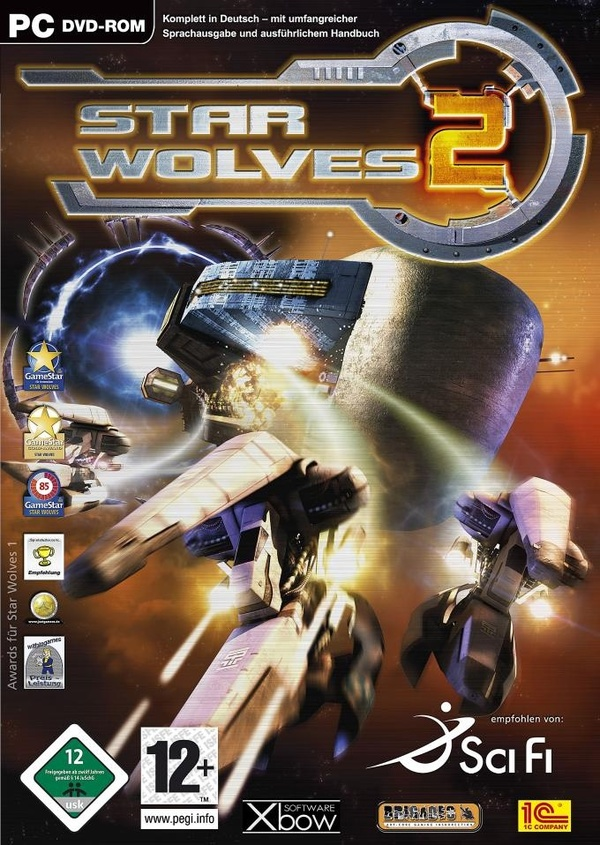 Cover zu Star Wolves 2