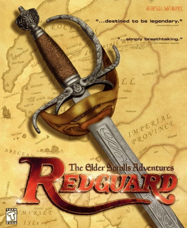 Cover zu The Elder Scrolls: Redguard