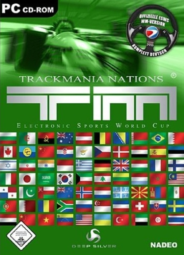 Cover zu TrackMania Nations ESWC