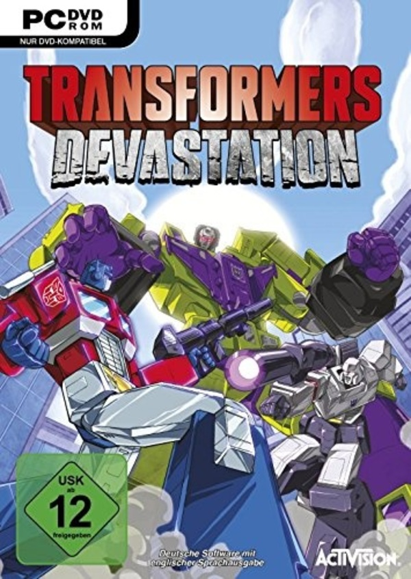 Cover zu Transformers: Devastation