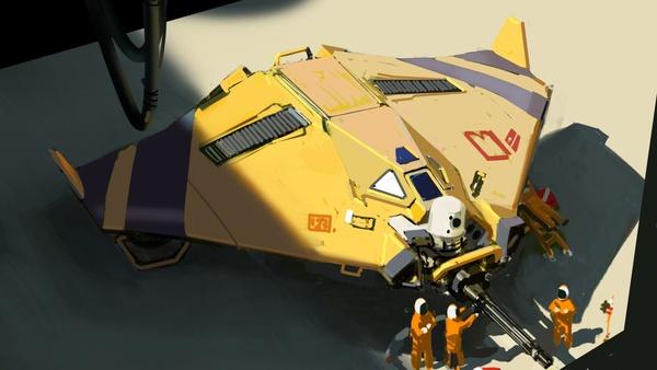 Screenshot zu Hardware: Shipbreakers - Artworks