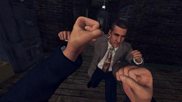 Screenshot zu L.A. Noire - The VR Case Files - Screenshots aus der Vive-Version