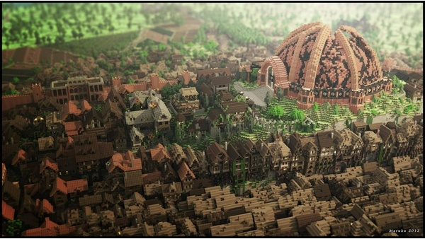 Screenshot zu Minecraft - Game of Thrones-Nachbau