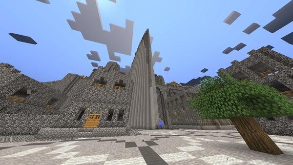 Bild der Galerie Minecraft-Großprojekte - Minas Tirith aus Herr der Ringe
