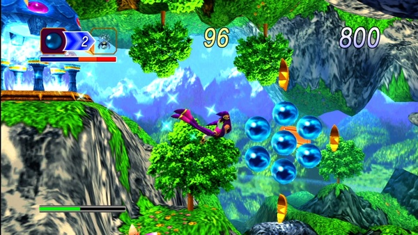 Screenshot zu NiGHTS into Dreams - Screenshots