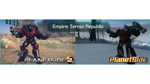 Screenshot zu Planetside 2 - Bildervergleich zum ersten Planetside