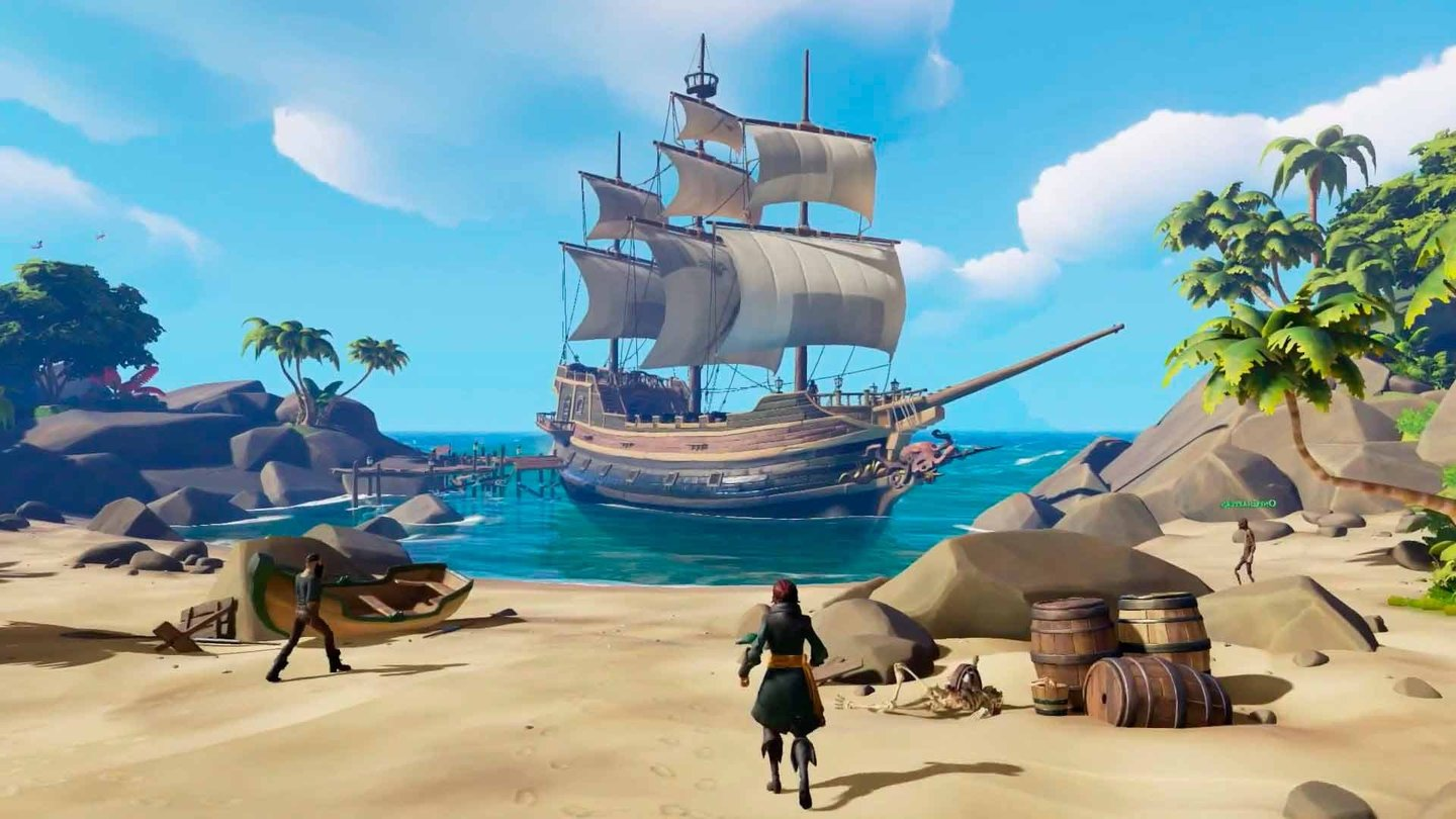 how to play hte closed beta sea of theives