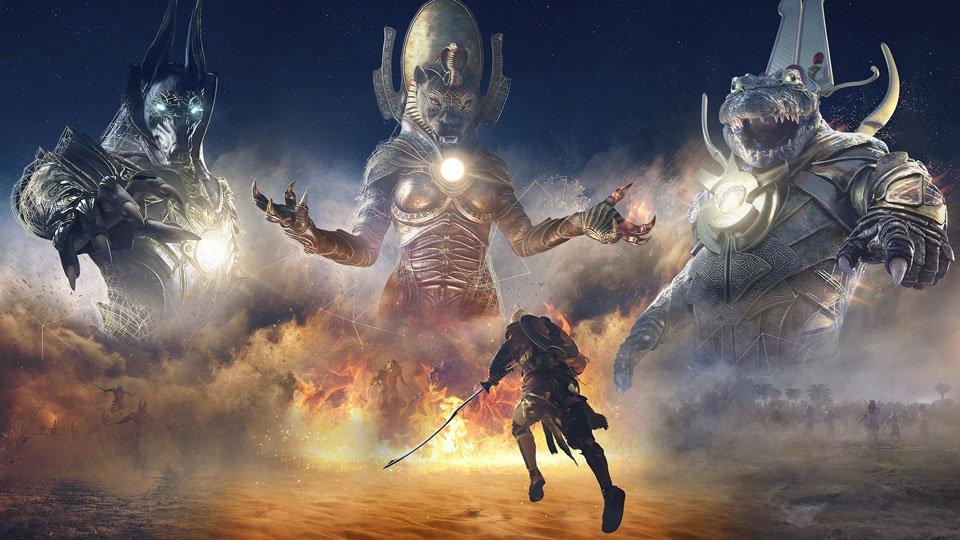 Final Fantasy XV in Assassin's Creed Origins