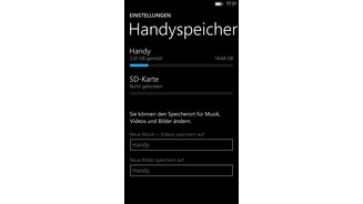 Windows Phone 8 auf dem Samsung Ativ S