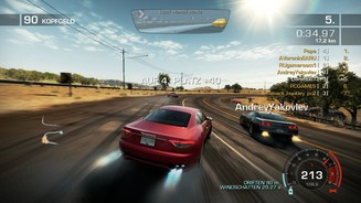 <b>Need for Speed: Hot Pursuit</b><br>Die Online-Rennen sind das Herz von Hot Pursuit.