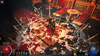 <b>Path of Exile: The Awakening</b><br>Neue Skills wie dieser Ice Crash bereichern das Charakterentwicklungs-Repertoire um neue, durchschlagende Optionen.